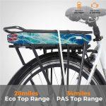 KK3007 Electric City Bike Battery