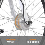 KK3007 Electric City Bike Motor
