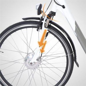 KK3007 Electric City Bike Suspension