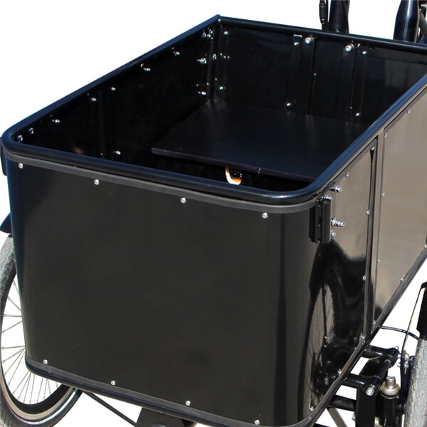 KK6005 Electric Cargo Tricycle Front Loader