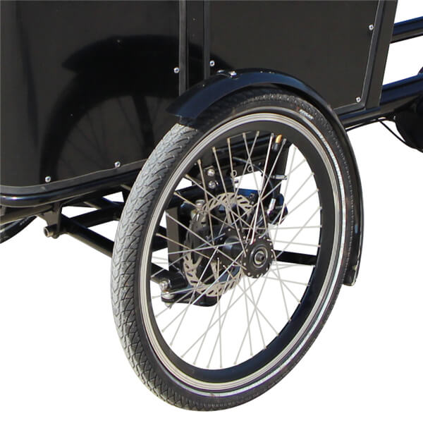KK6005 Front Loader Electric Cargo Tricycle Tire