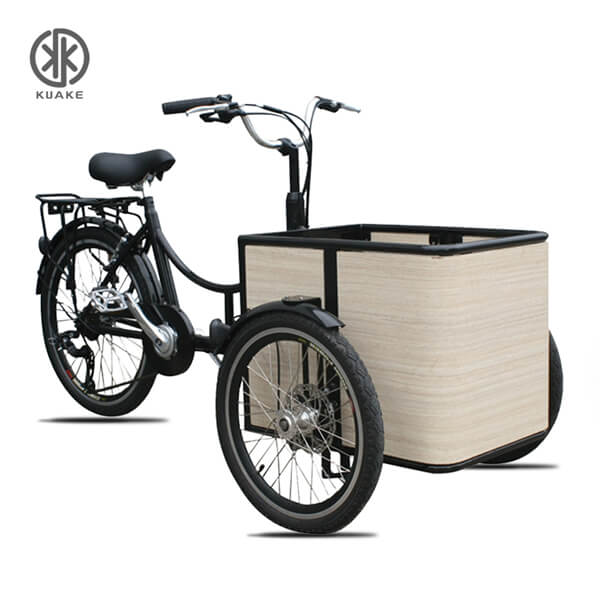 KK6005 Front Loader Electric Cargo Tricycle