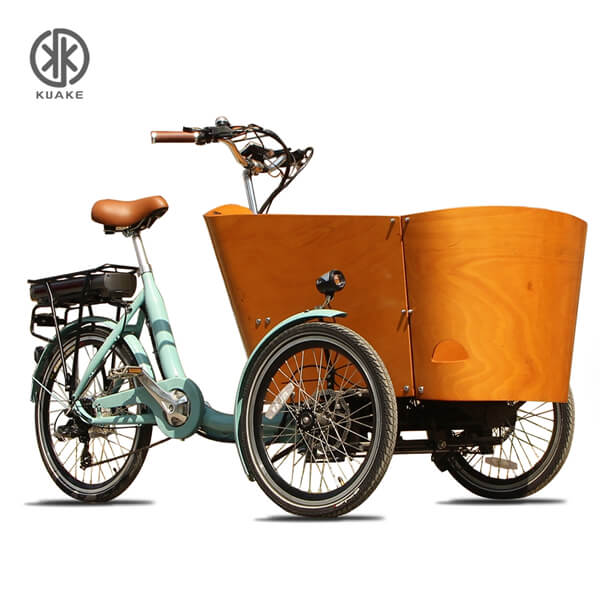 KK6006 Front Loader Electric Cargo Tricycle