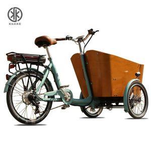 KK6006 Front Loader Electric Cargo Trike