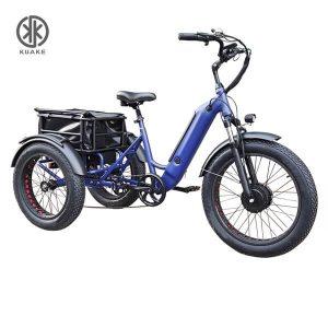 KK6007ブルーフロントローダー電動三輪車