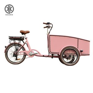 KK6007 Front Loader Electric Cargo Tricycle
