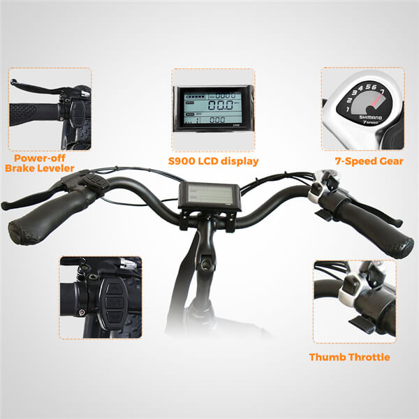 KK6007 Front Loader Electric Cargo Tricycle Headset