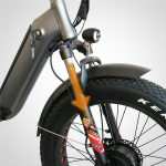 KK6007 Front Loader Electric Cargo Tricycle Suspension