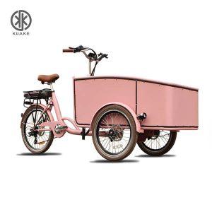 KK6007 Front Loader Electric Cargo Trike