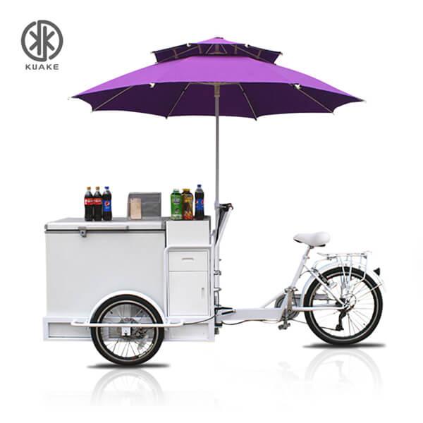 KK6009 Freezer Electric Cargo Tricycle