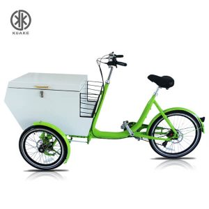 KK6012 Front Loader Electric Cargo Tricycle