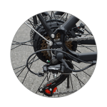 KK9053 Electric City Bike Gears