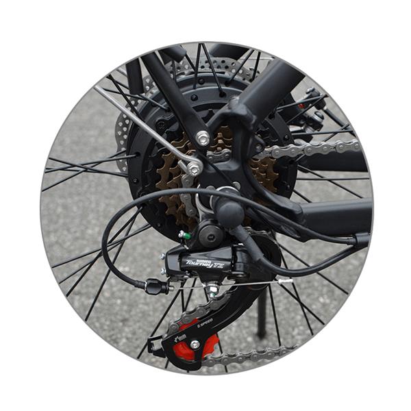 KK9053 Engrenages de vélo de ville électrique