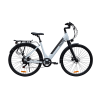 KK9053 White Electric City Bike