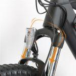 KK9056 Electric Mountain Bike Fork Suspension