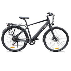 KK9058 Black Electric City Bike
