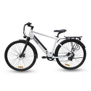 KK9058 White Electric City Bike