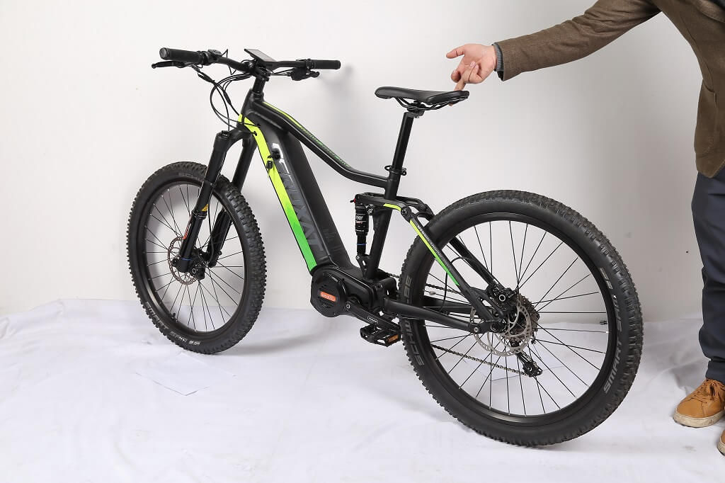 Mid-Drive Motor Electric Bicycle