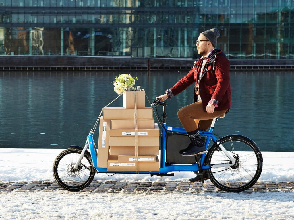 Electric Cargo Bikes For Work