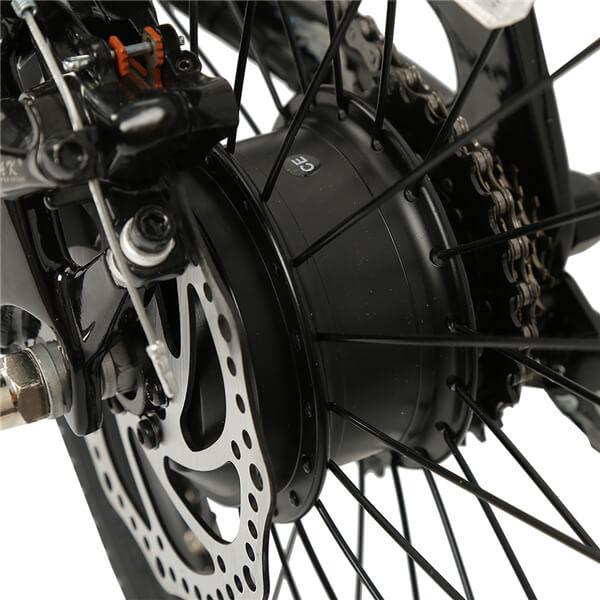 KK7016フルカーボンファイバー折りたたみ式E-Bikeリアモーター