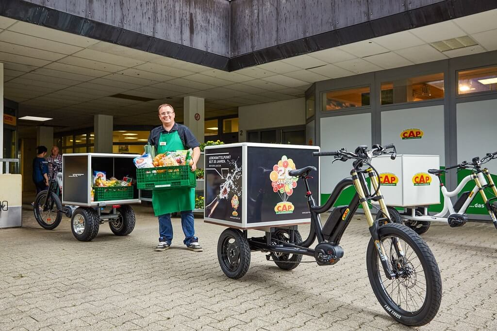 Electric Cargo Tricycles