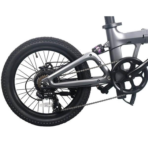 マグネシウム合金折りたたみ式Eバイク