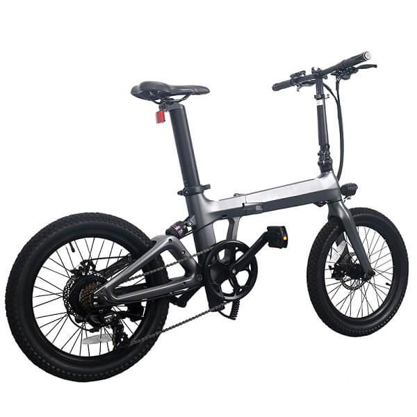 マグネシウム合金折りたたみ式電動自転車