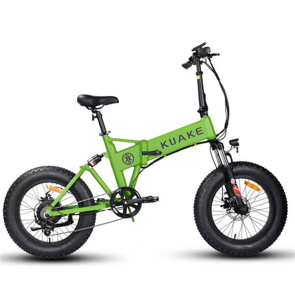 KK2016折りたたみ式ファットタイヤ電動自転車(1)