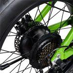 KK2016 Folding Fat Tire Electric Bike (3)
